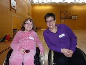 Abbie & I - February 2011
